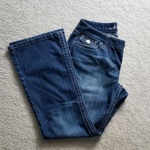 INC Boot Cut Curvy Fit Jeans